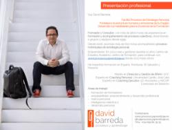 Presentación Profesional David Barreda