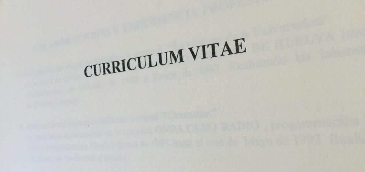 Mi primer CV (1ª parte) .- David Barreda - Procesos y Aprendizaje